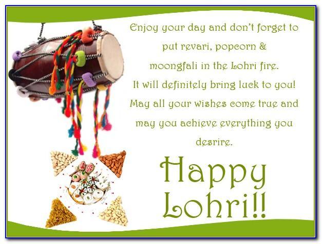 First Lohri Invitation Templates Free Download