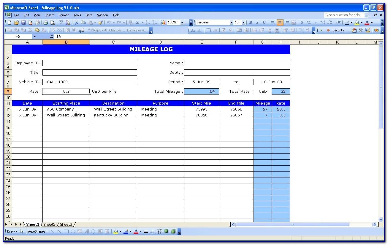 Fleet Maintenance Checklist Template