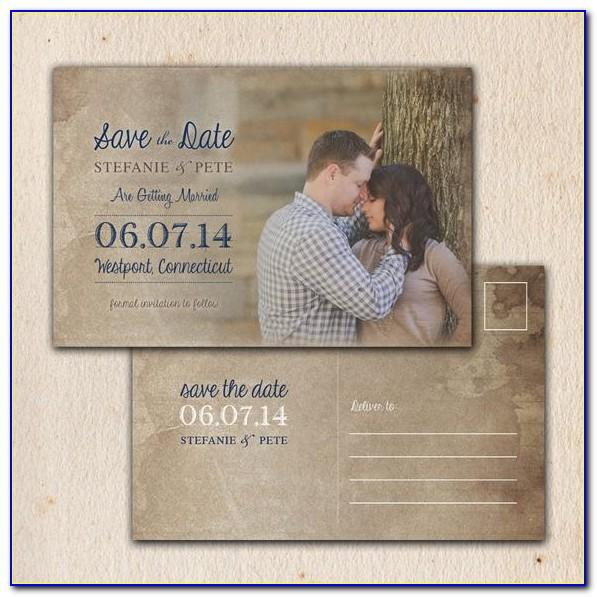 Free 4x6 Save The Date Template