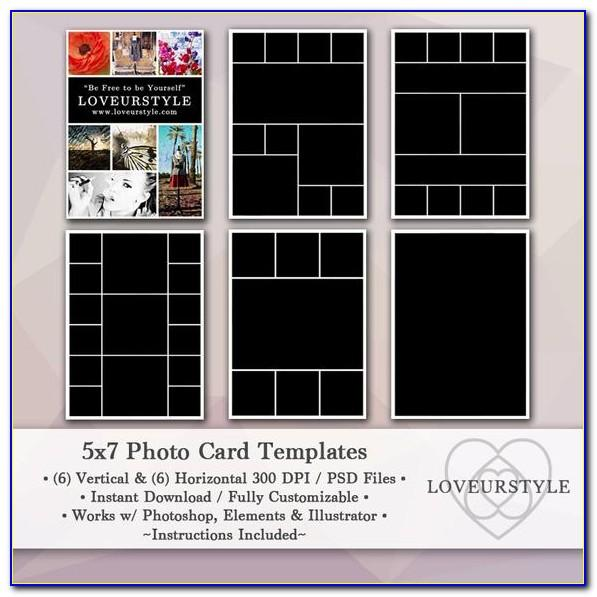 Free 5x7 Collage Template Photoshop