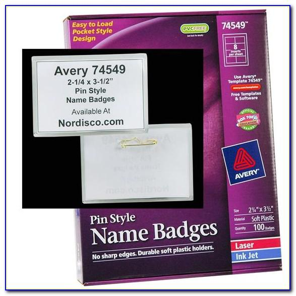 Free Avery Templates For Name Badges