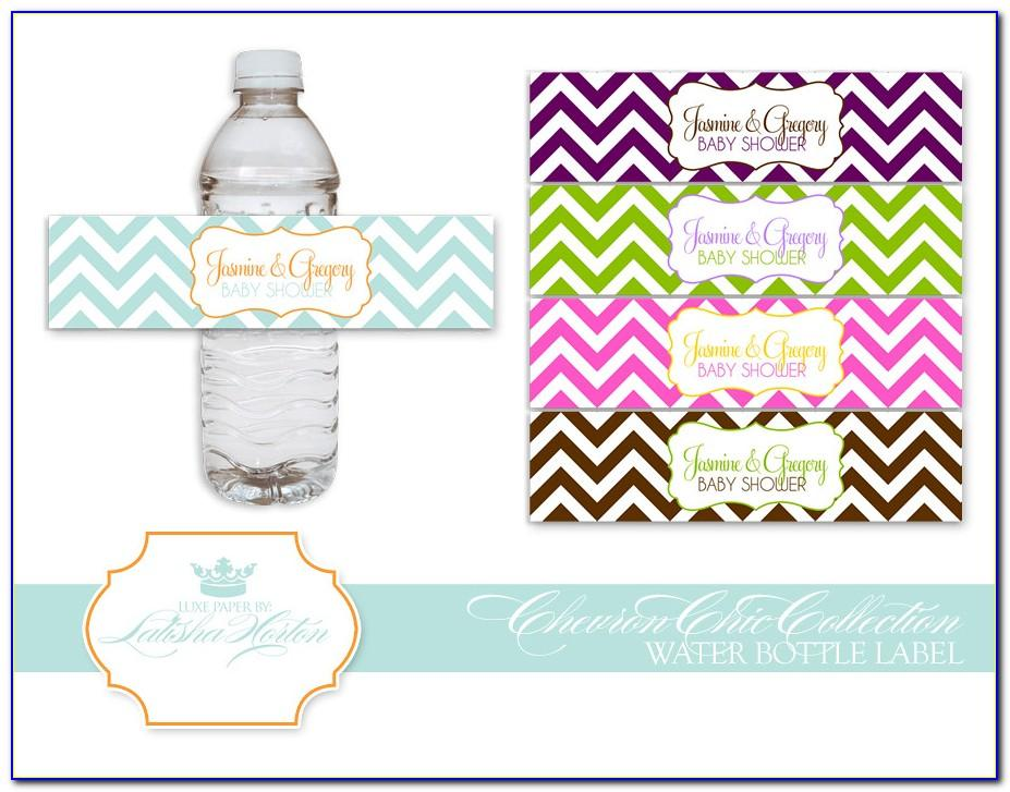 Free Bottled Water Labels Template
