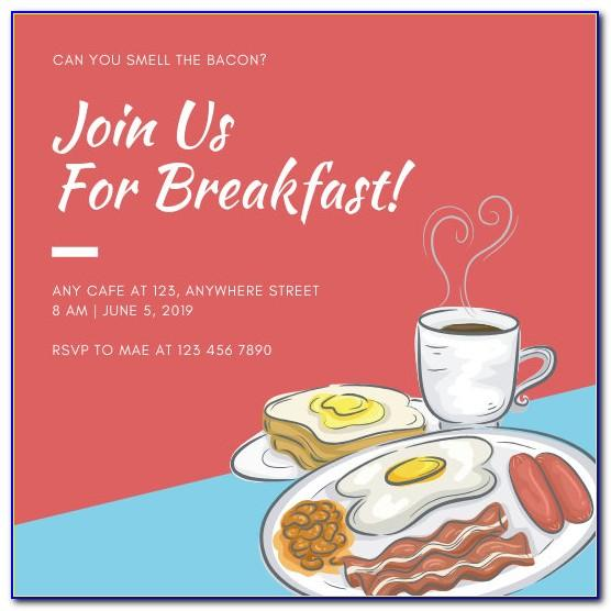 Free Brunch Invitation Templates For Word