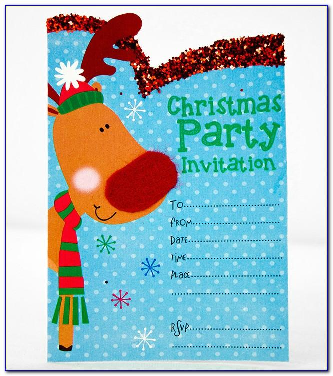 Free Christmas Party Invitation Template Download