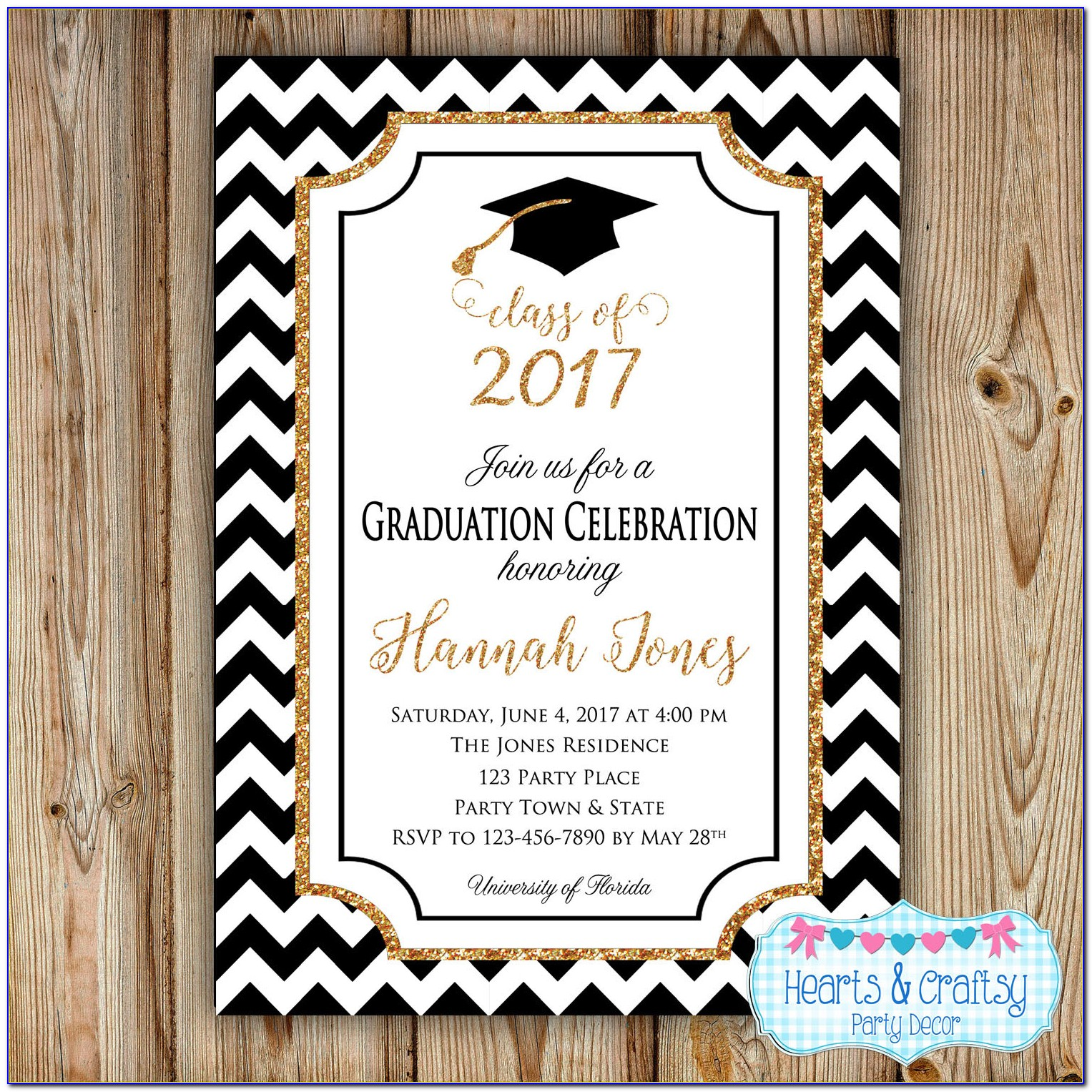 Free Downloadable Graduation Party Invitation Templates