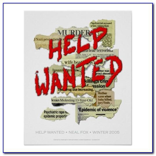 Free Help Wanted Poster Template