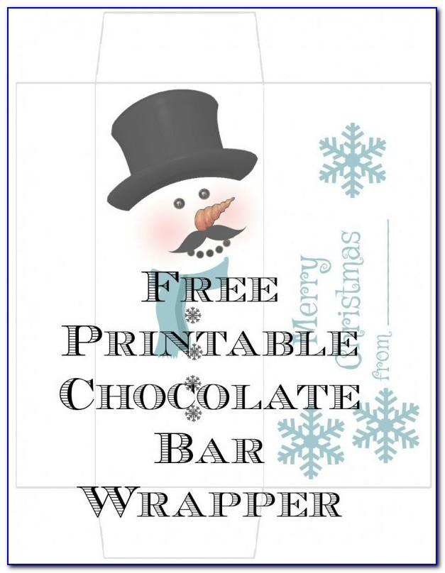 Free Hershey Bar Wrapper Template Photoshop