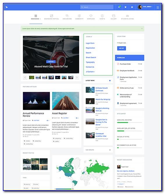 Free Joomla Intranet Templates