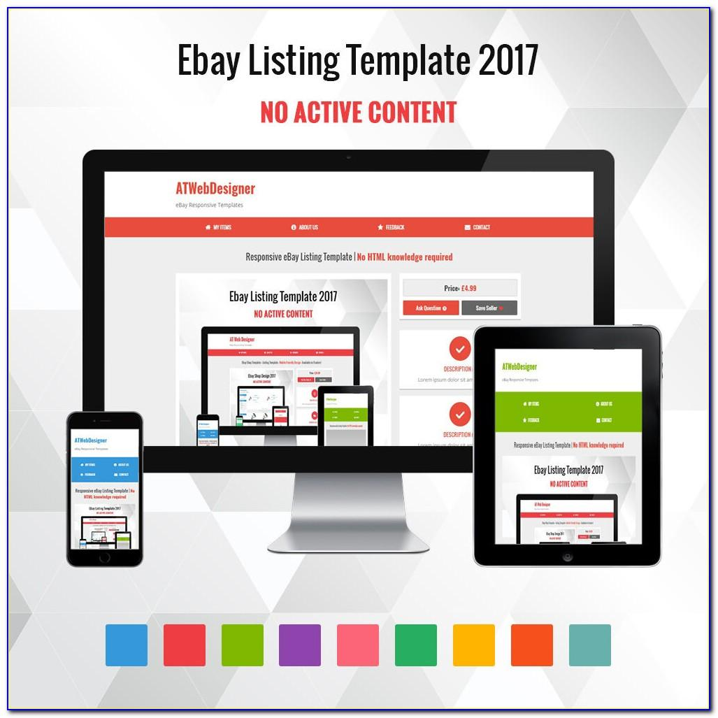 Free Mobile Friendly Ebay Listing Template