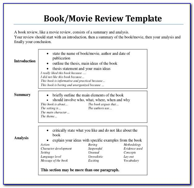 Free Online Book Writing Templates