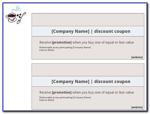 Free Printable Business Coupon Templates