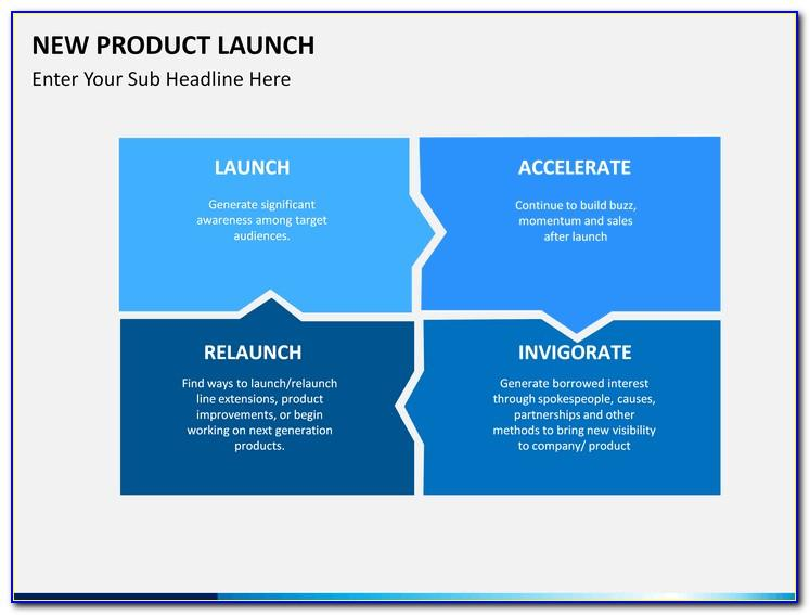 Free Product Launch Plan Template Ppt