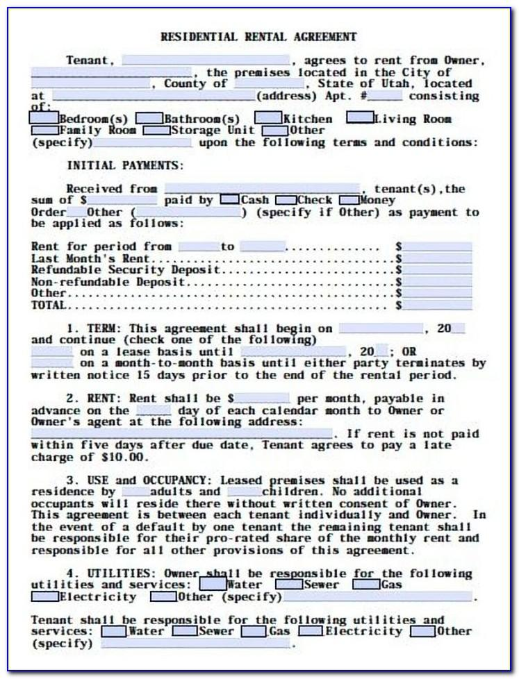 Free Restaurant Lease Agreement Template