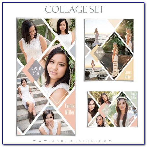 Free Senior Collage Templates For Photoshop