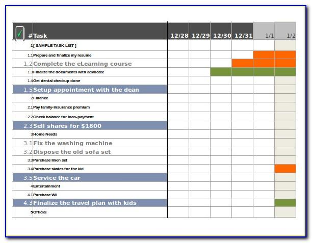 Free Task Tracker Template Excel
