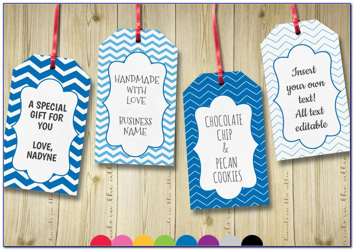 Free Template For Bridal Shower Favor Tags