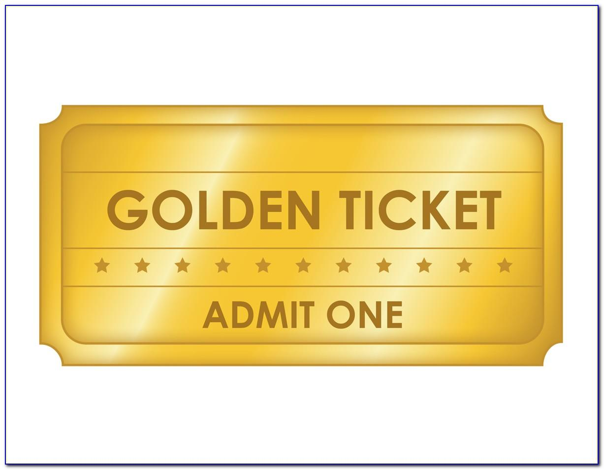 Free Template For Movie Tickets