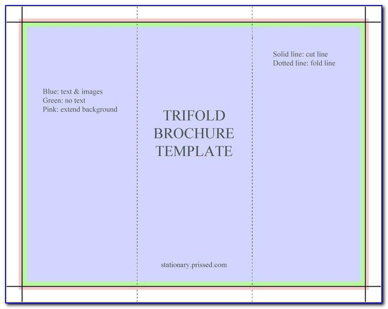 Free Tri Fold Brochure Layout Download
