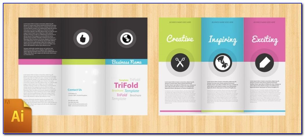 Free Tri Fold Brochures Templates
