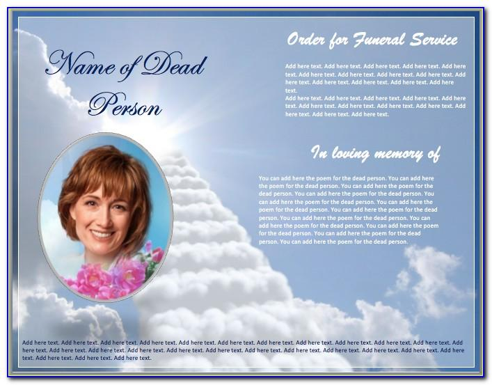 Funeral Brochure Templates Free