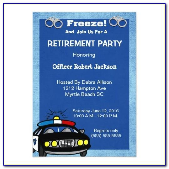 Funny Retirement Party Invitation Template