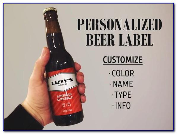Homebrew Beer Label Template