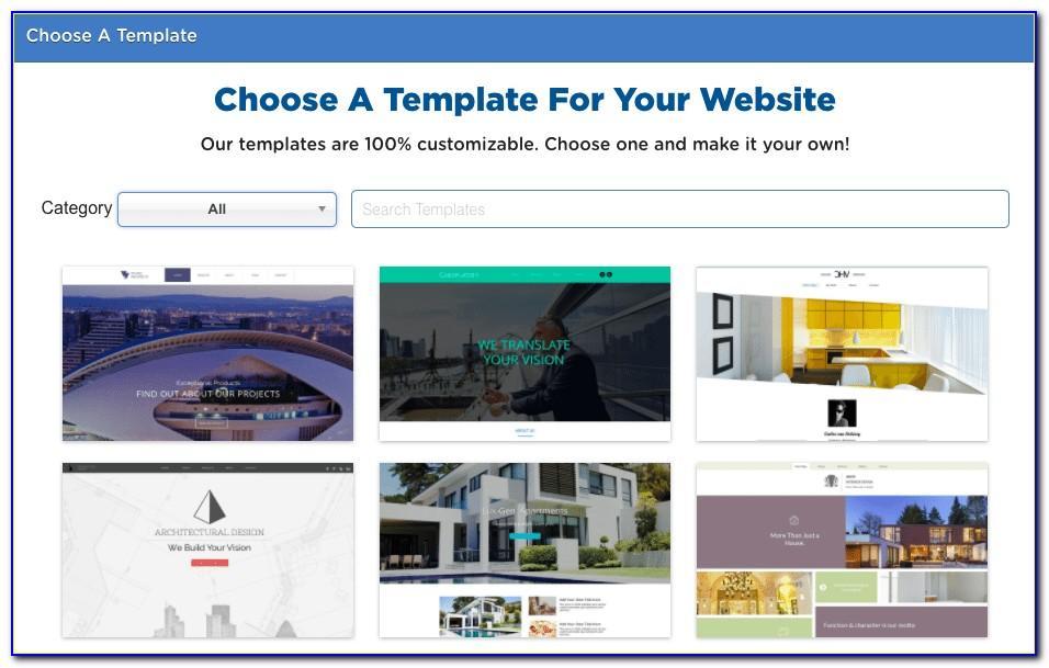 Hostgator Website Builder Templates