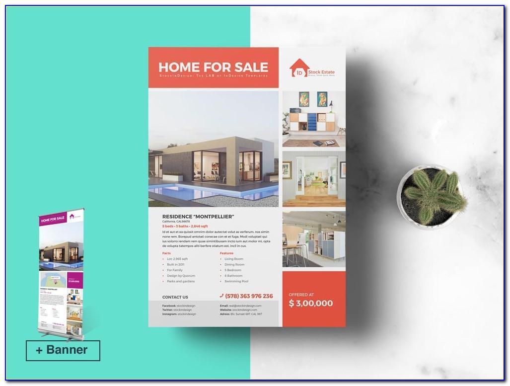 Indesign Real Estate Flyer Templates