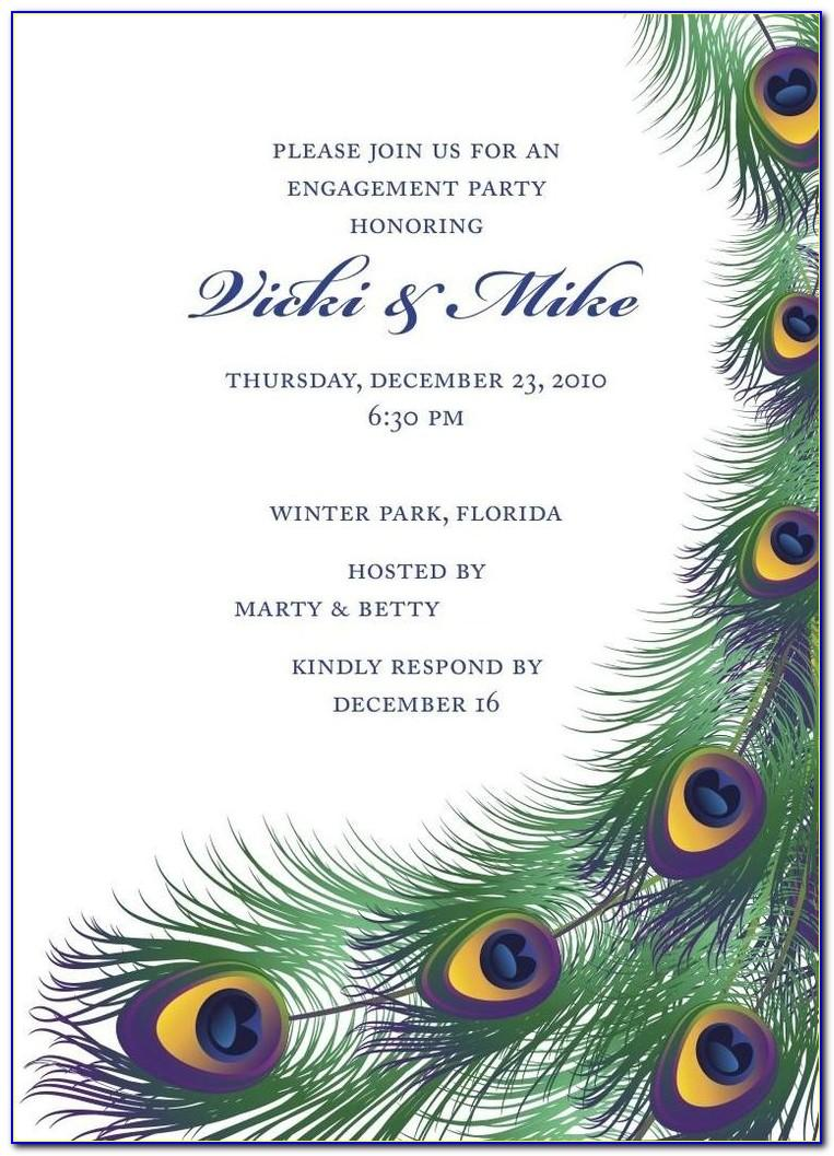 Indian Engagement Invitation Cards Templates Free Download