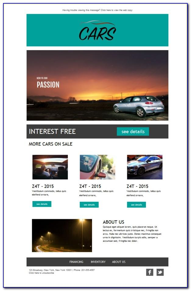 Introduction Email Template Car Sales
