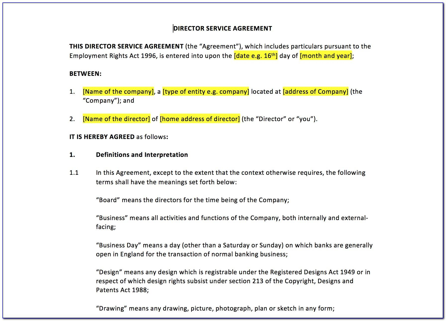 Licensing Agreement Template Word