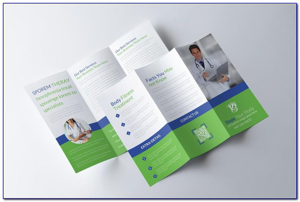 Medical Tri Fold Brochure Templates For Free