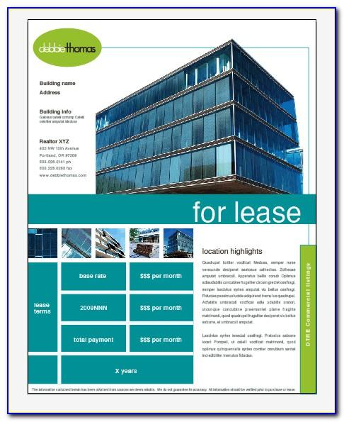 Microsoft Office Real Estate Flyer Templates