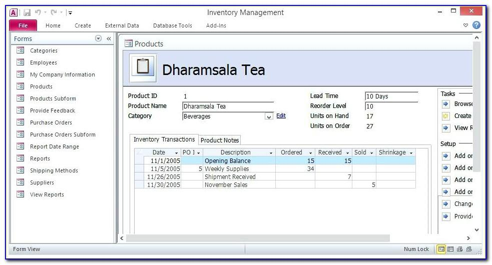 Ms Access Crm Template Download