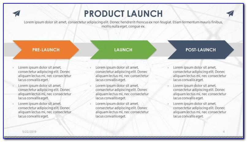 New Product Launch Ppt Template Free