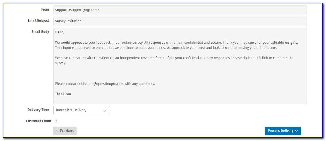 Nps Survey Questions Template