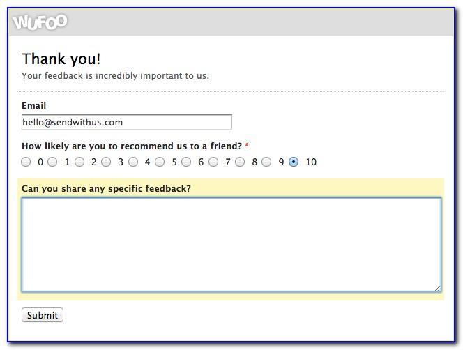 Nps Survey Template
