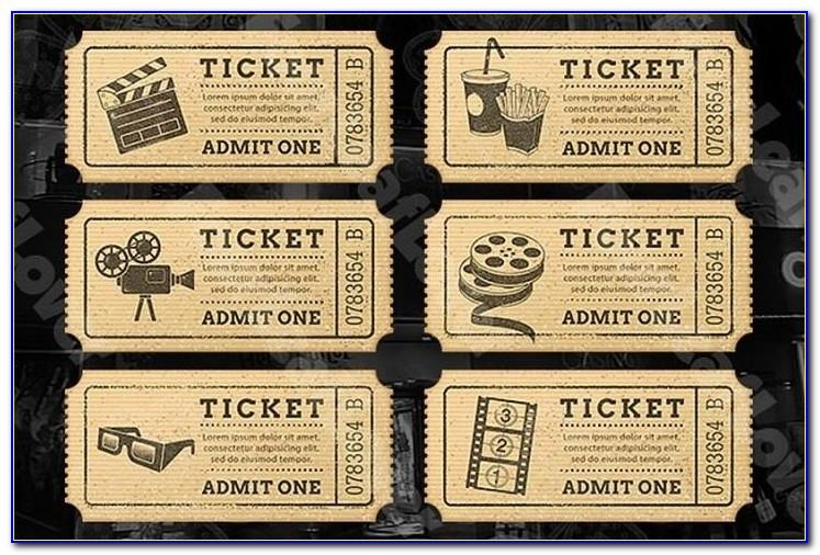 Old Fashioned Plane Ticket Template