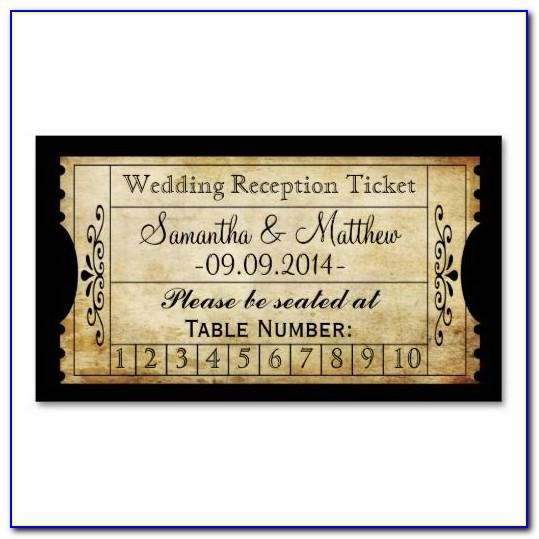 Old Fashioned Train Ticket Template