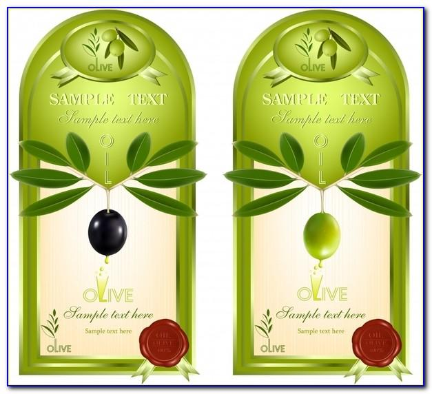 Olive Oil Bottle Label Template Freeolive Oil Bottle Label Template Free