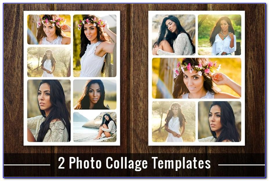 Photo Collage Template Download Psd