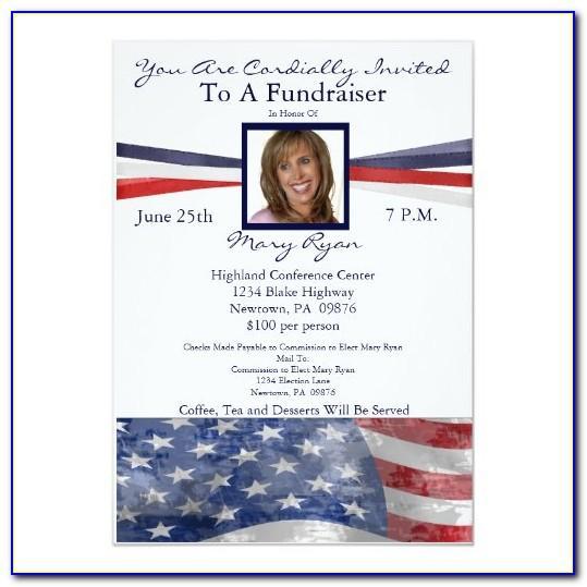 Political Invitation Template