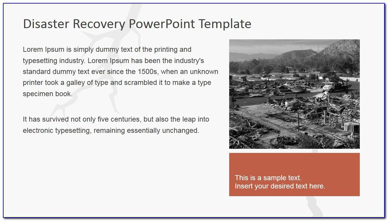 Powerpoint Templates Disaster Recovery