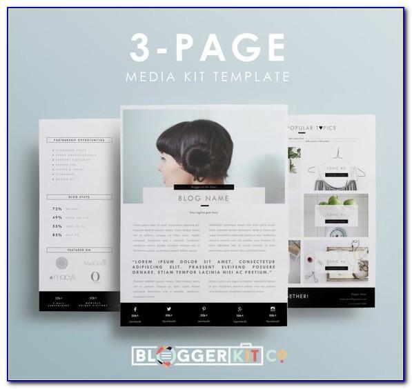 Press Kit Template Free Download