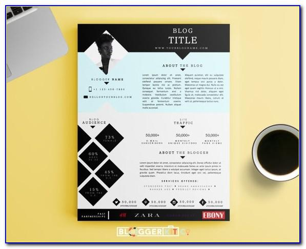 Press Kit Templates Free
