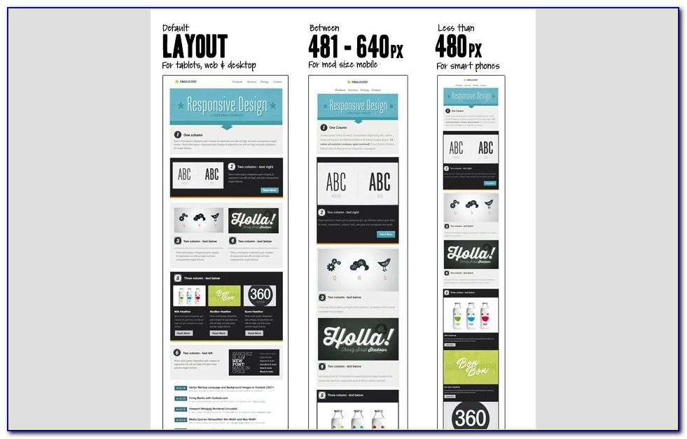 Responsive Html Newsletter Template