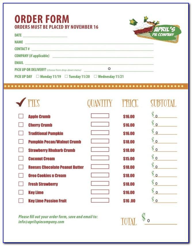 Restaurant Online Ordering Template
