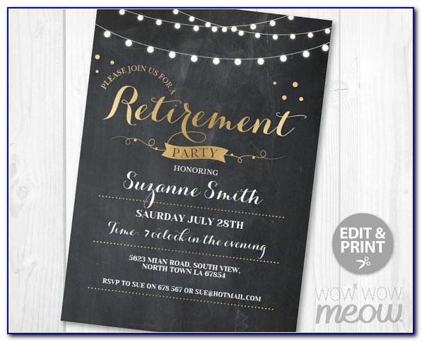 Retirement Party Powerpoint Templates