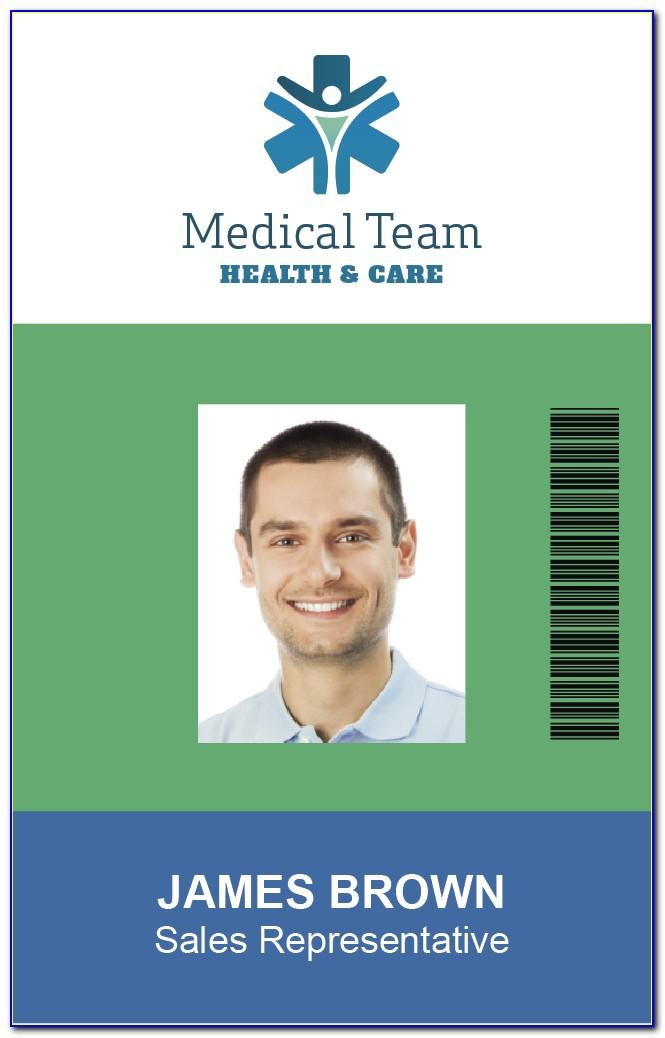 Sample Id Badge Templates