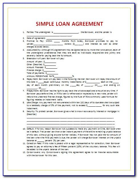 Secured Loan Agreements Templates
